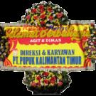 Bunga Papan Wedding 03- 2x1m