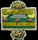 Bunga Papan Duka Cita 006 2×1,25m