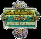 Bunga Papan Duka Cita 008 2×1,25m