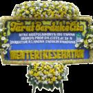 Bunga Papan Duka Cita 003 2x1m