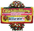 papan congratulations 01- 2x1m