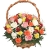 roses in basket 004