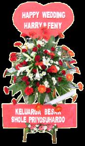 standing flower wedding 03