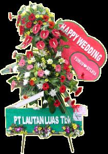 standing flower wedding 01