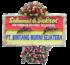 bunga papan sukses 002- 2x1m