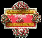 bunga papan sukses 008- 2×1,25m