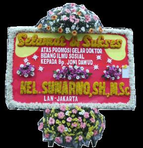 bunga papan sukses 007- 2×1,25m