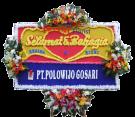 Bunga Papan Wedding 23 – 2×1,25m