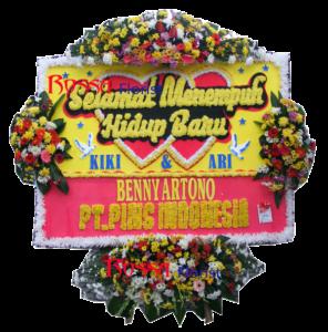 Bunga Papan Wedding 22 – 2×1,5m
