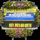 Bunga Papan Duka Cita 010 2×1,5m full