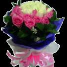 roses in vase 09