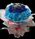 roses wrapped 011 (biru)